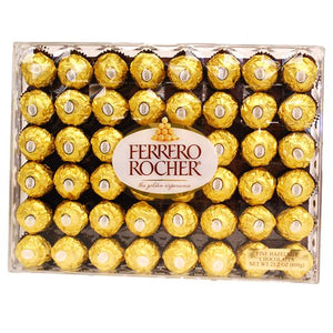All City Candy Ferrero Rocher Fine Hazelnut Chocolates - Box of 48 Chocolate Ferrero Default Title For fresh candy and great service, visit www.allcitycandy.com