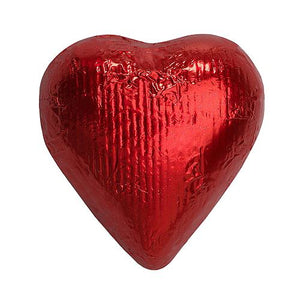 All City Candy Red Foiled Solid Milk Chocolate Hearts Bulk Bags Bulk Wrapped SweetWorks For fresh candy and great service, visit www.allcitycandy.com