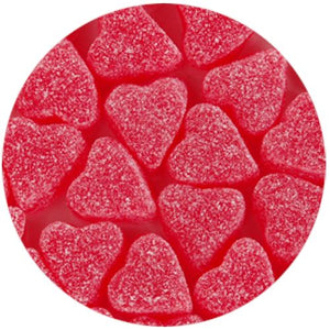 All City Candy Sour Cherry Jelly Hearts - 3 LB Bulk Bag Bulk Unwrapped Zachary Default Title For fresh candy and great service, visit www.allcitycandy.com