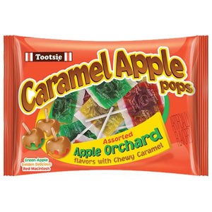 All City Candy Tootsie Caramel Apple Pops Assorted Apple Orchard Lollipops - 15-oz. Bag Lollipops & Suckers Tootsie Roll Industries Default Title For fresh candy and great service, visit www.allcitycandy.com