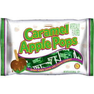 All City Candy Tootsie Caramel Apple Pops Lollipops Bags Lollipops & Suckers Tootsie Roll Industries 9.4-oz. Bag For fresh candy and great service, visit www.allcitycandy.com