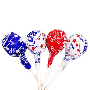 All City Candy Tootsie Flag Pops - 3 LB Bulk Bag Lollipops & Suckers Tootsie Roll Industries For fresh candy and great service, visit www.allcitycandy.com