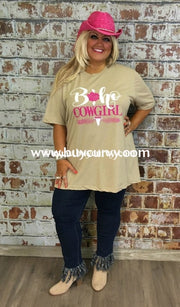 Gt-S Boho Cowgirl Comfy T-Shirt Graphic