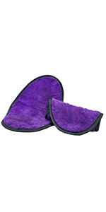 Purple Cuddle Bean Aftercare Towel