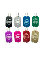 Split Peaches Dog Tags - SplitPeaches.com - 1