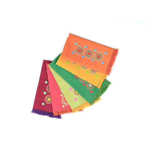 Colorful Coffee Table Napkins (we sell it per piece)