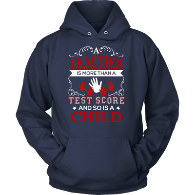 Teacher Is More Than A Test Score And So Is A Child Shirt - Awesome Librarians - 1