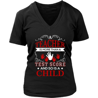 Teacher Is More Than A Test Score And So Is A Child Shirt - Awesome Librarians - 10