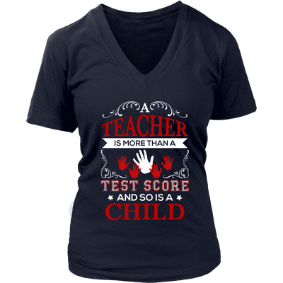 Teacher Is More Than A Test Score And So Is A Child Shirt - Awesome Librarians - 12