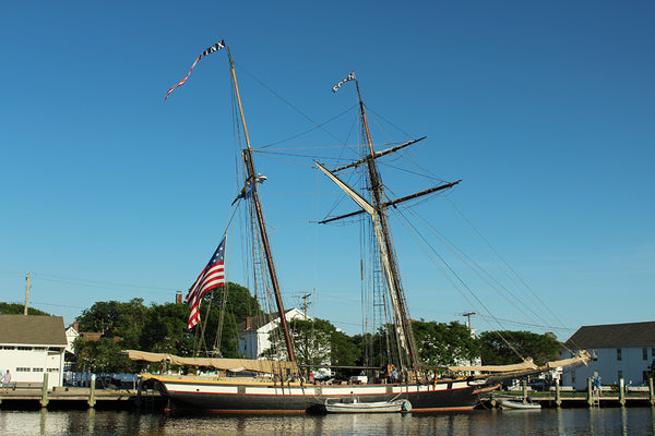Schooner Lynx in Mystic Connecticut