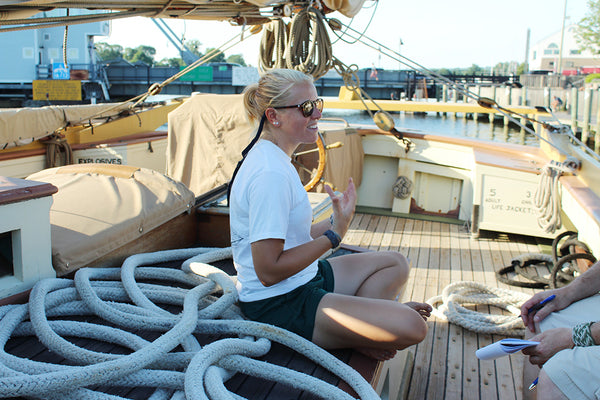 Schooner Lynx Mystic Knotwork interview
