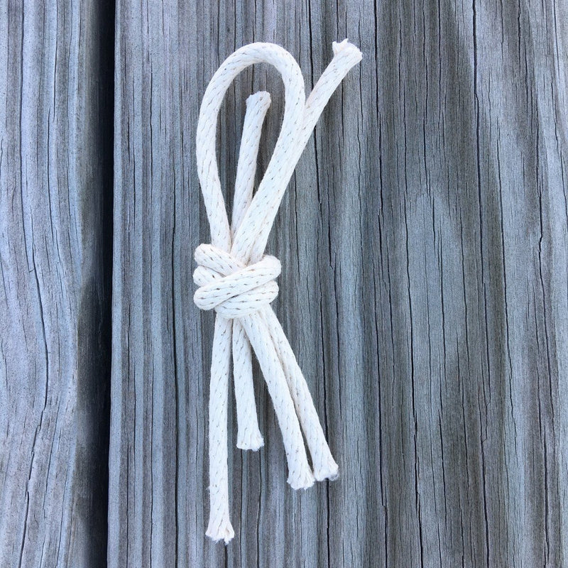Nautical Knot Nautical Lapel Knot Braided Cord Overhand Knot Boutonniere handmade at Mystic Knotwork