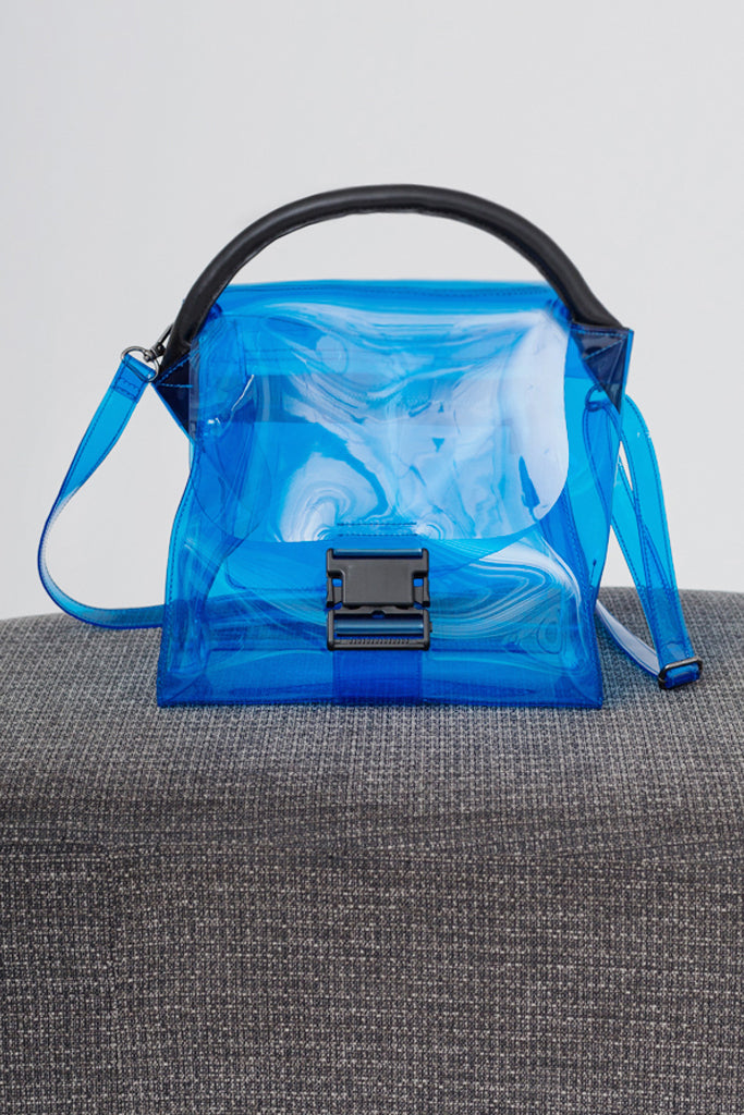 Transparent Buckle Bag