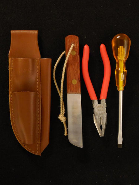 Captain Currey 40133 Rigging Knife, Pliers, Screwdriver & Sheath