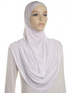 White Plain Pull On Style Al Amira Hijab