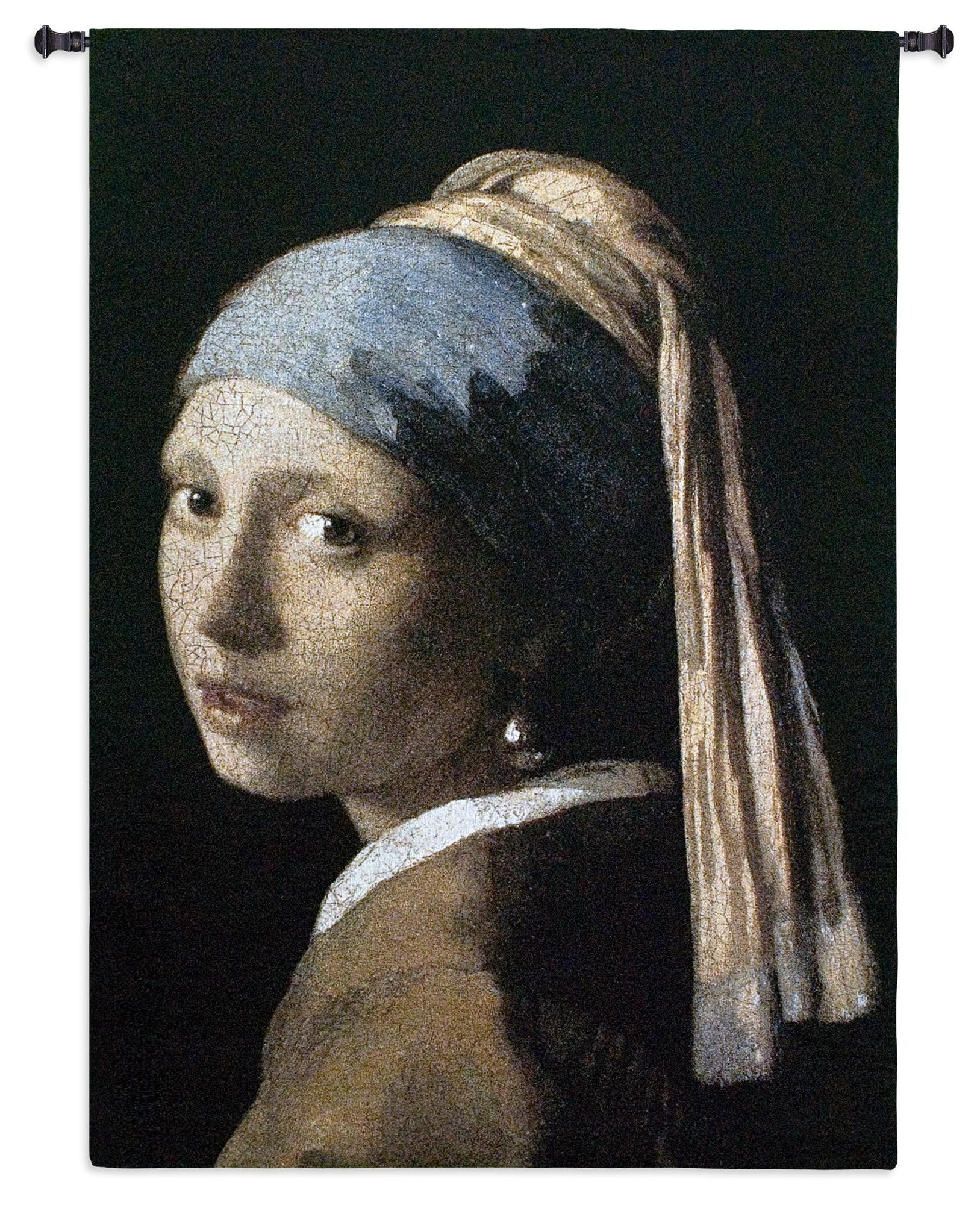 Girl with a Pearl Earring Tapestry