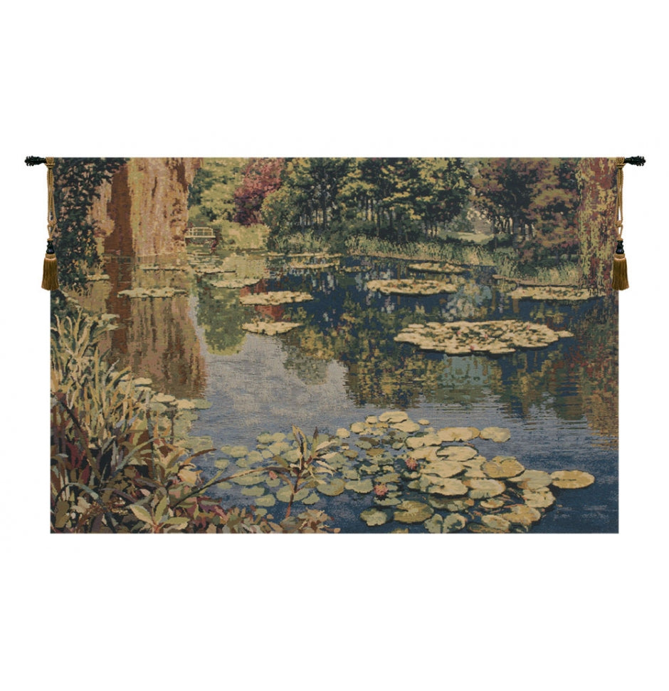 Lake Giverny by Monet Wall Hanging without border