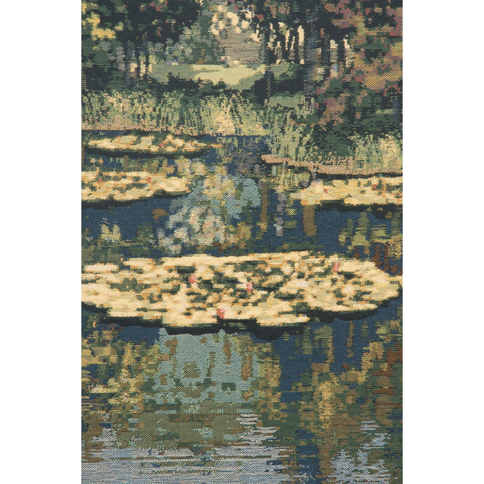 Green Monet Lily Pond Scene Decoration for Room