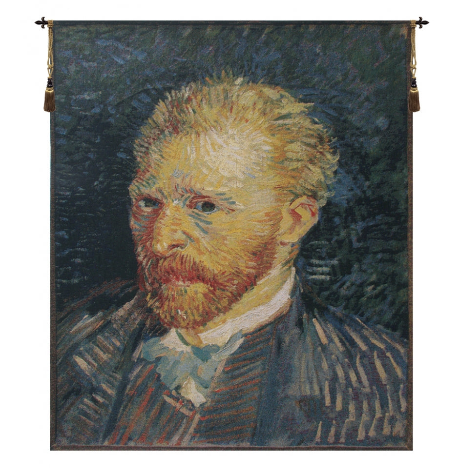 Portrait of Van Gogh European Wall Hanging Tapestry