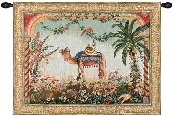 The Camel French Decor Wall Tapestry