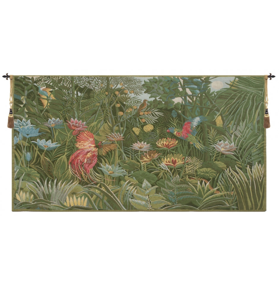 Tropical Enchantment European Hanging Wall Tapestry