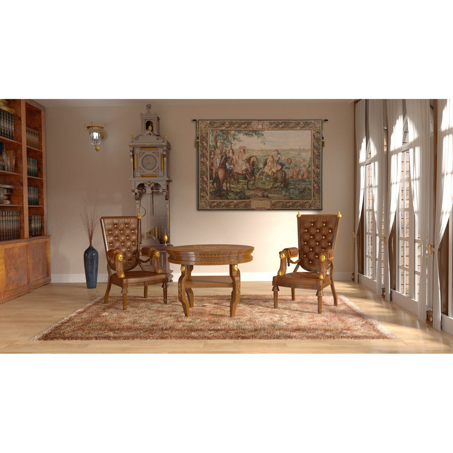 La Prise de Lille French Wall Tapestry