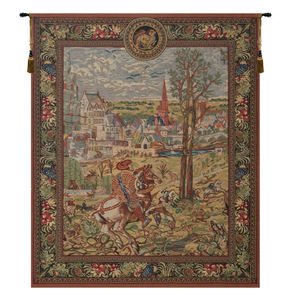 Vieux Brussels Left Side Wall Hanging Decor