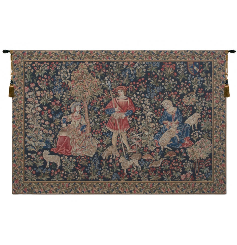 The Working of the Wool European Hanging Wall Tapestry