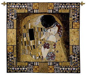 The Kiss Captured Tapestry Decoration