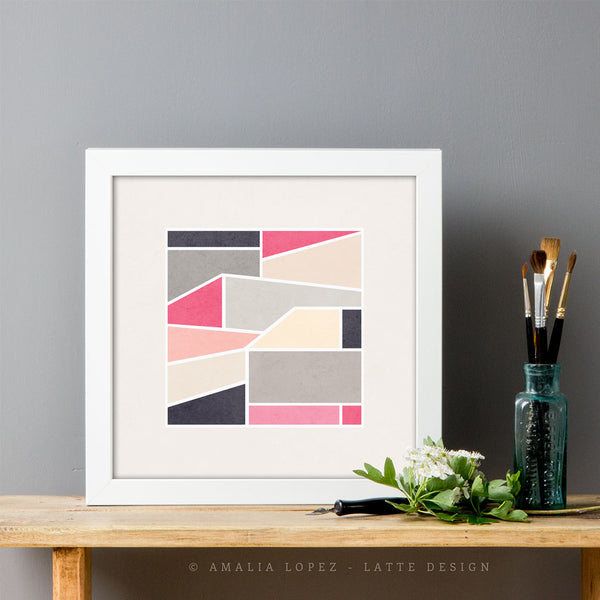 Structures 1. Geometric print