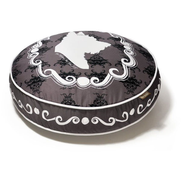 CAMEO ROUND DOG BED, Beds - Bones Bizzness