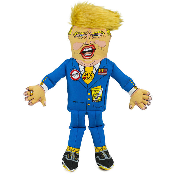 DONALD TRUMP DOG TOY, Toys - Bones Bizzness