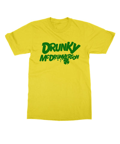 DRUNKY MCDRUNKERSON - St. Patrick's Day T-shirt