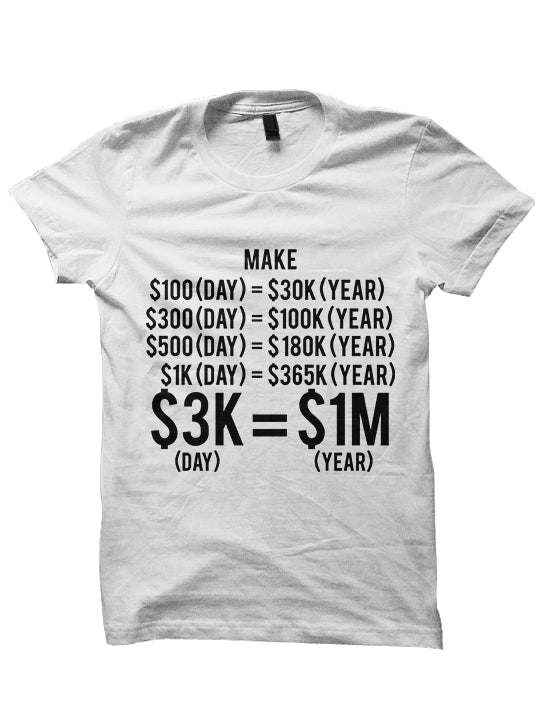 MAKE $100 A DAY T-Shirt