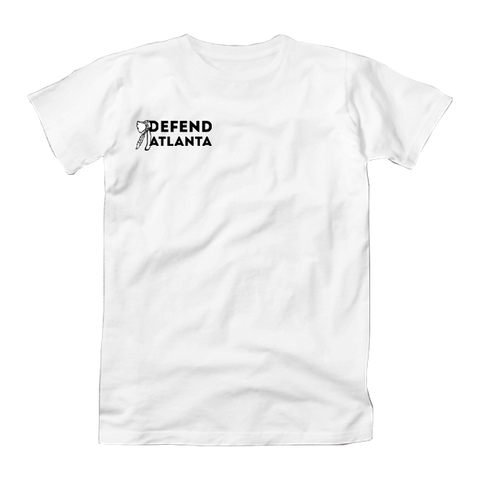 DEFEND ATLANTA - T-SHIRT  Black and White