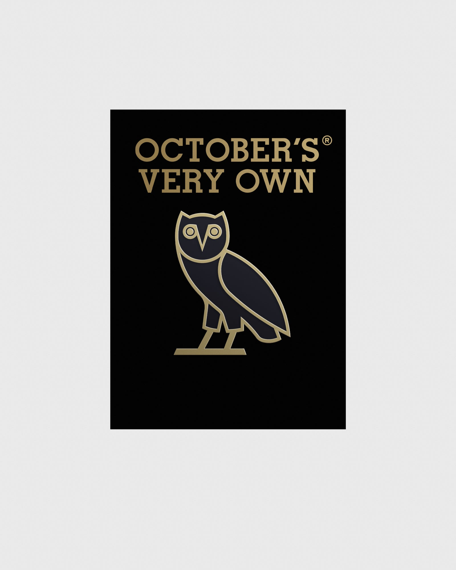 OWL PIN - BLACK