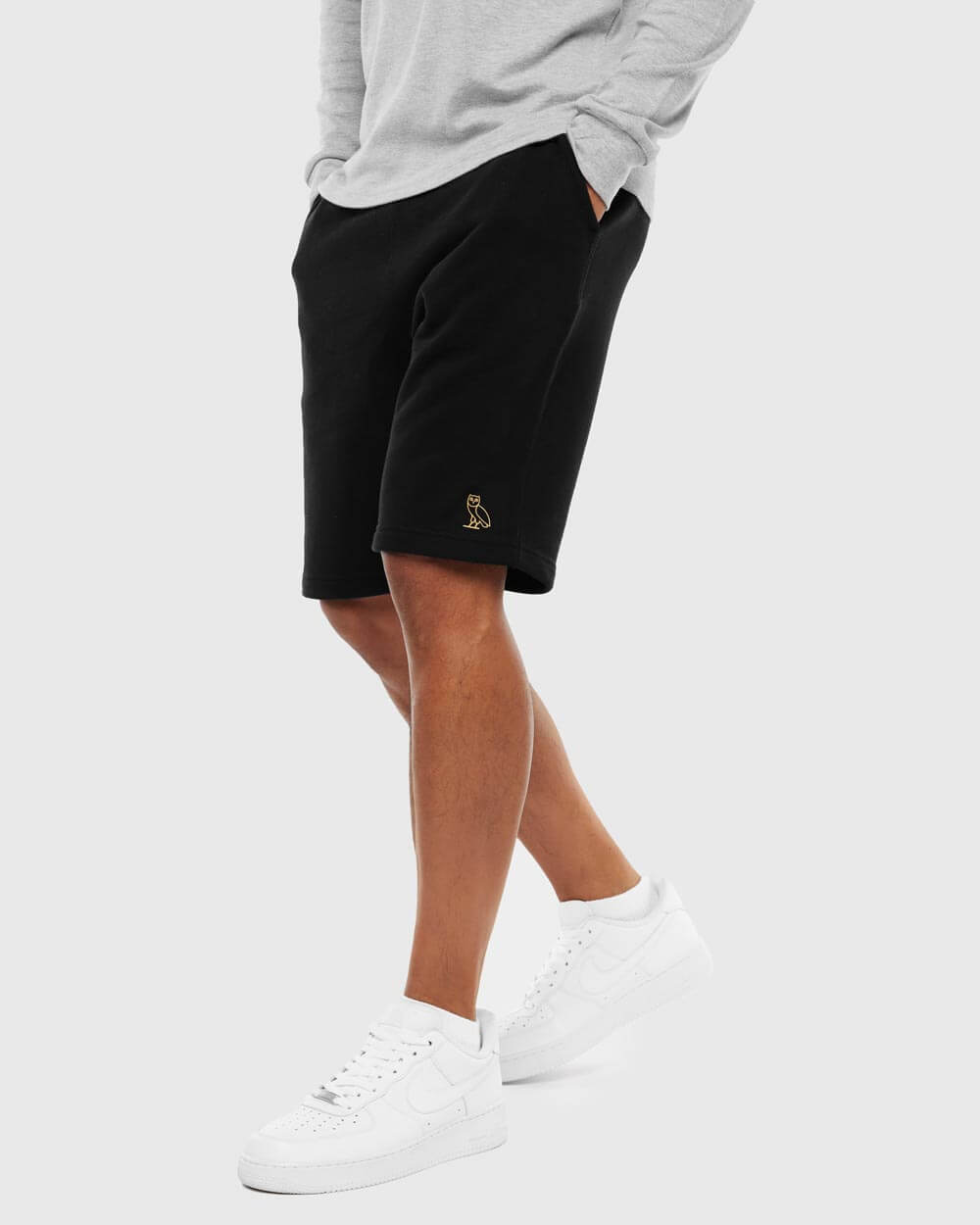 OVO ESSENTIALS SHORT - BLACK IMAGE #2