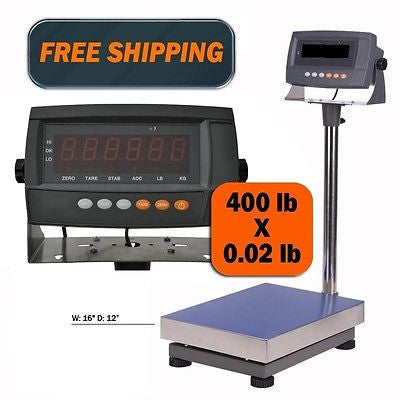 DWP-440 440 Lbs Digital Shipping Postal Scale - Solutionsgem