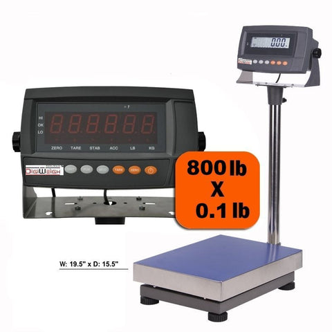 DWP-800 800 Lb Digital Shipping Postal Scale - Solutionsgem