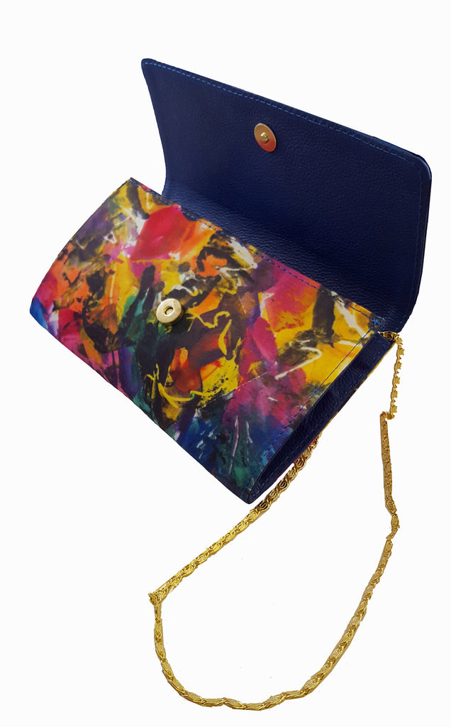 The Baguette Royal Blue Handbag Jazz on 52nd Street