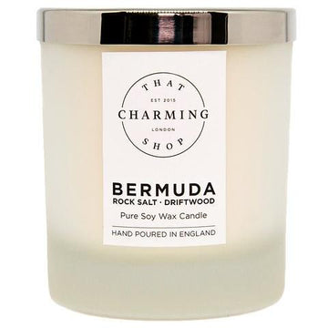 City Lights Candle - City Candle - Bermuda Deluxe Candle - Rock Salt Driftwood Candle - That Charming Shop