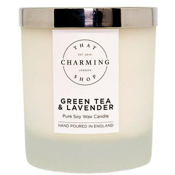 Green Tea And Lavender Deluxe Candle - Green Tea And Lavender - That Charming Shop