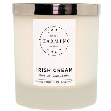 Irish Cream Candle - Irish Cream Deluxe Candle - That Charming Shop - Christmas Candle