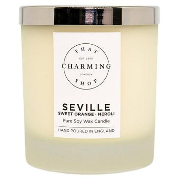 City Lights Candle - City Candle - Seville Deluxe Candle - Sweet Orange Neroli Candle - That Charming Shop