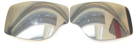 AVIATOR RETRO PILOT T1/2/3 SILVER MIRROR LENSES - Speedwear Ltd