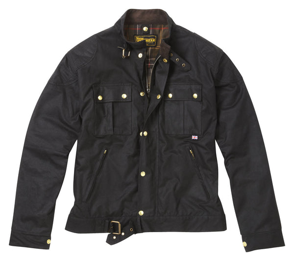 BROWN TILSTOCK® WAX COTTON MOTORCYCLE JACKET - Speedwear Ltd - 2