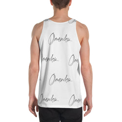 Omenka Signature All-Over Print Men's Tank Top - Omenka