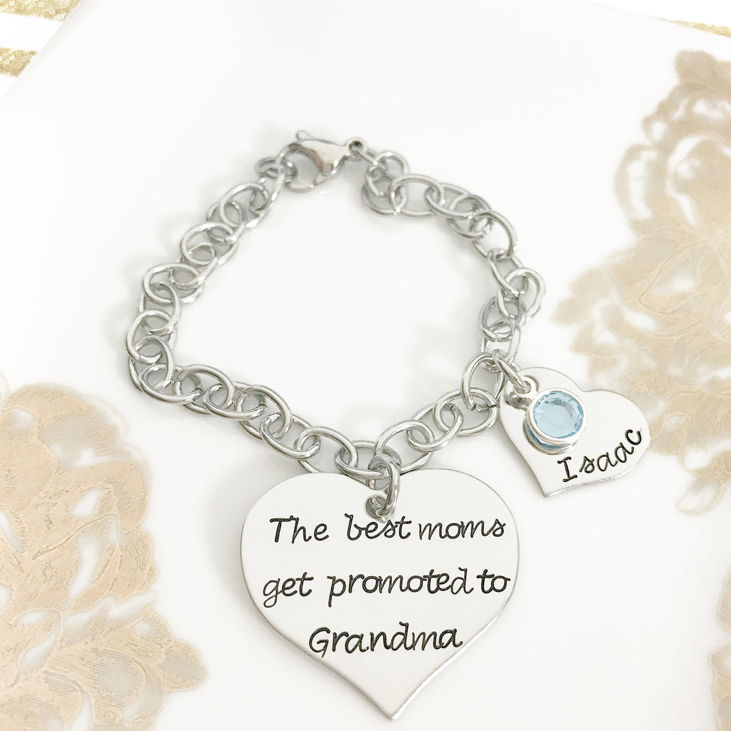 CUSTOMIZE HEART BRACELET