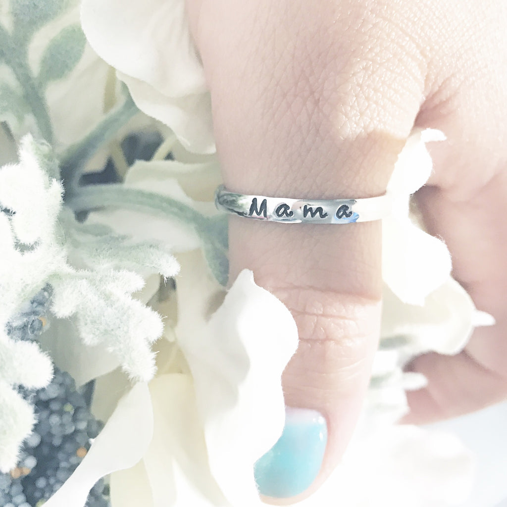 MAMA STACKABLE RING