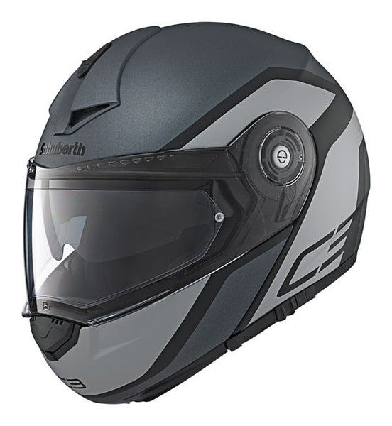 SpesaUK - Schuberth Helmet C3 Pro Observer Grey Medium 56/57